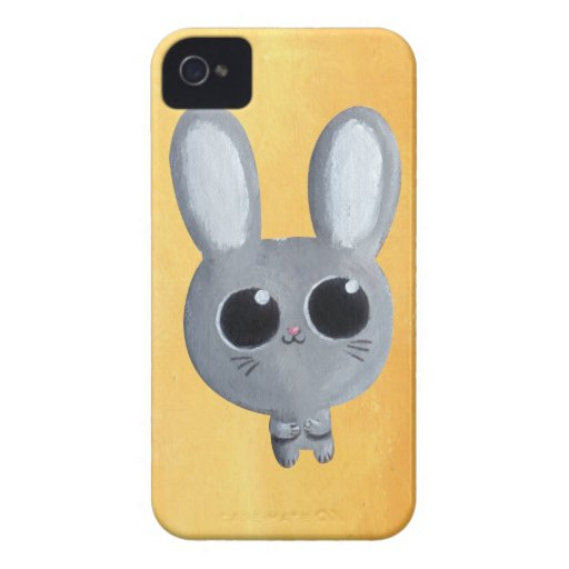 Cute Easter Bunny iPhone 4 Cases