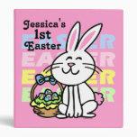Cute Easter Bunny Keepsake Binder