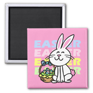 Cute Easter Bunny Refrigerator Magnets