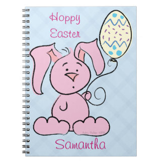 Cute Easter Bunny Notebook