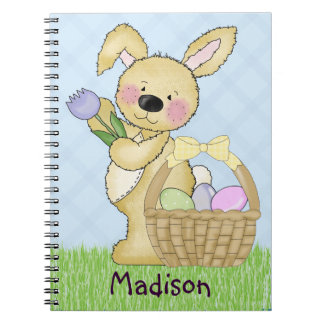 Cute Easter Bunny Notebooks