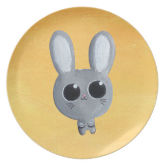 Cute Easter Bunny Plates