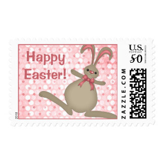 Cute Easter Bunny Rabbit Easter Postage Stamps