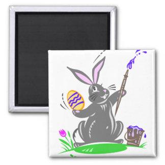 Cute Easter Bunny Rabbit Fridge Magnet