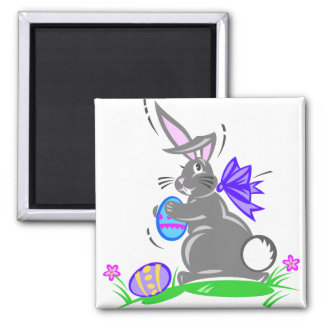Cute Easter Bunny Rabbit Magnets