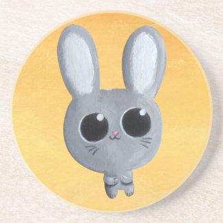 Cute Easter Bunny Sandstone Coaster