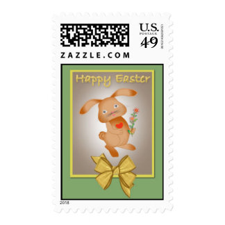 Cute Easter Bunny, Stamp