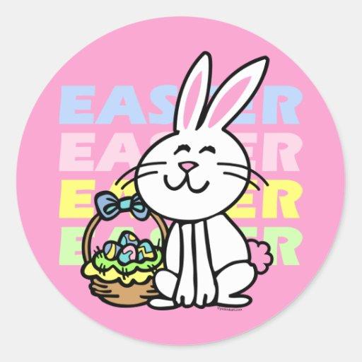 Cute Easter Bunny Sticker