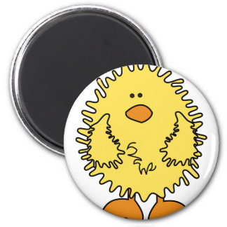 Cute Easter Chick 2 Inch Round Magnet