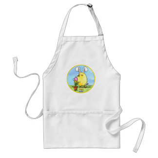 Cute Easter Chick apron