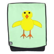 Cute Easter Chick Backpack