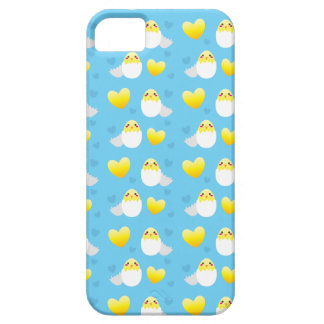 Cute Easter chick coming out of an egg pattern iPhone 5 Cases