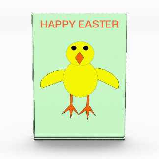 Cute Easter Chick Custom Decoration Award