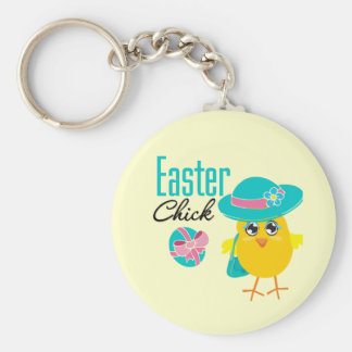 Cute Easter Chick Key Chains