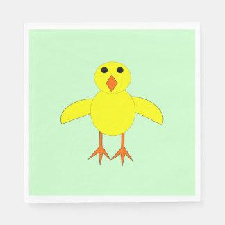 Cute Easter Chick Luncheon Napkin Standard Luncheon Napkin