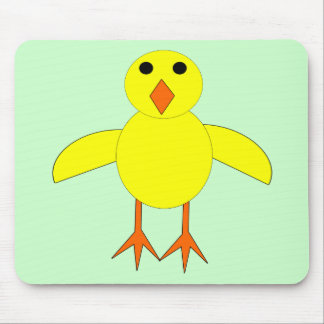Cute Easter Chick Mousepad