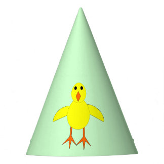 Cute Easter Chick Party Hat