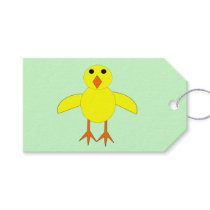 Cute Easter Chick Personalized Gift Tags