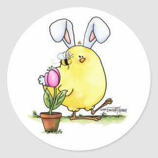 Cute Easter Chick sticker