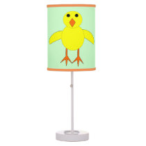 Cute Easter Chick Table Lamp