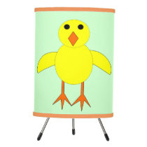 Cute Easter Chick Tripod Lamp