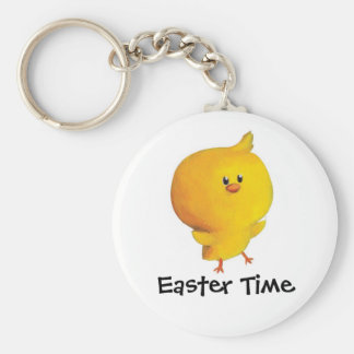 Cute Easter Chicken Key Chains