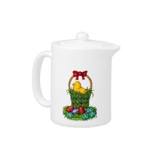 Cute Easter Chicken Teapot