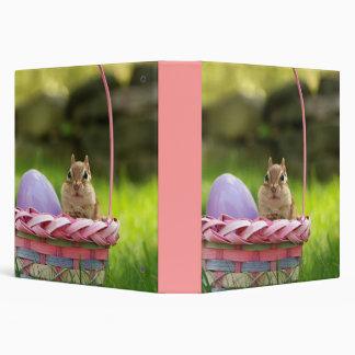 "Cute Easter Chipmunk 1.5"" Photo Album Binder"