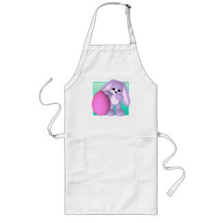 Cute Easter Egg Bunny Apron
