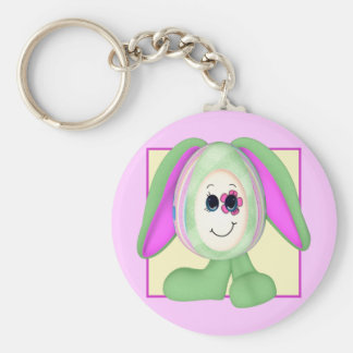 Cute Easter Egg Bunny Keychain