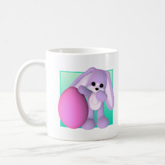 Cute Easter Egg Bunny Classic White Coffee Mug