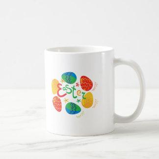"""Cute """"Easter Egg"""" cirlce design Mugs"""
