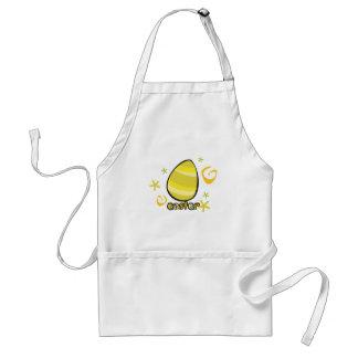 Cute Easter egg design Adult Apron