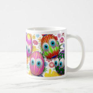 Cute Easter Eggs Cartoon mugs