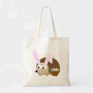 Cute Easter Hedgehog Tote Bag