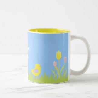 Cute Easter Lamb with Eggs Coffee Mug