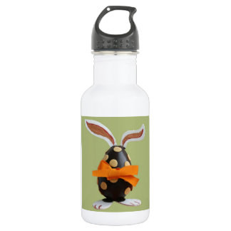 Cute Easter Party Egg Hunt Bunny Peace Destiny 18oz Water Bottle