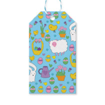 Cute Easter pattern Gift Tags