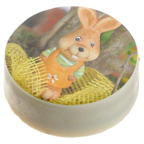 Cute Easter Treat Bunny Rabbit Chocolate Dipped Oreo