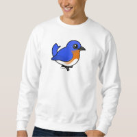 Eastern Bluebird Men's Basic Sweatshirt