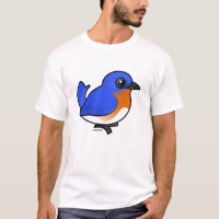 Eastern Bluebird Men's Basic T-Shirt