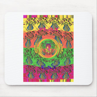 Cute Eat Love Play Hakuna Matata Colors.png Mouse Pad