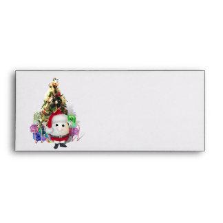 Cute Egg Santa - Eggstrordinary Christmas Envelopes