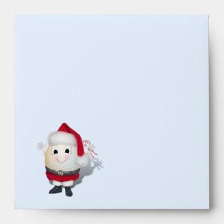 Cute Egg Santa - Eggstrordinary Christmas Envelope