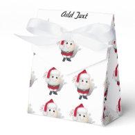 Cute Egg Santa - Eggstrordinary Christmas Favor Box