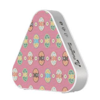 Cute eggs pattern bluetooth speaker