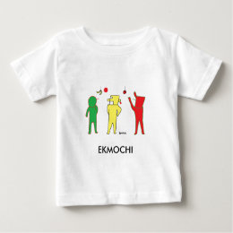 Cute ekmochi baby tee of which do you like
