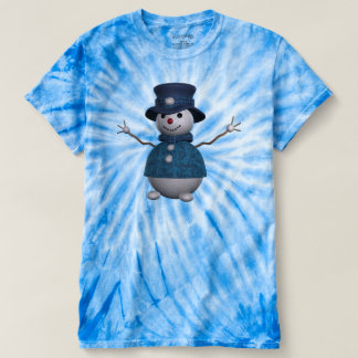 Cute Elegant Whimsical Snowman T-shirt