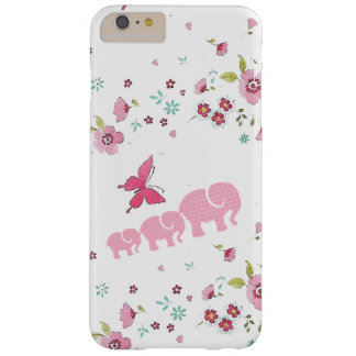 Cute elephant and flowers iPhone / iPad case