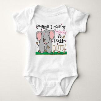 Cute Elephant and Peanuts Shirt